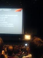Salen var knökfull - VSTS Presentation