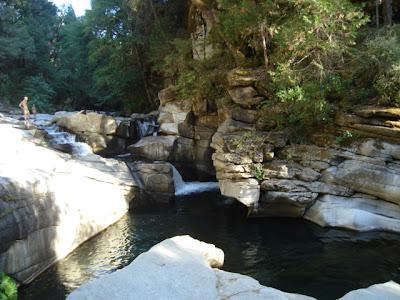 the waters near Ananda, plus Robert