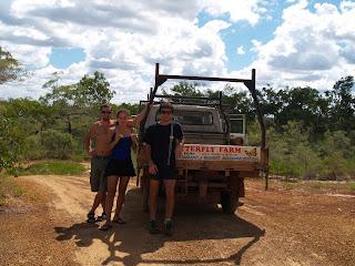 Il furgoncino della Butterfly Farm