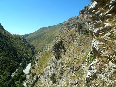 Cilento: canyon sotto San severino