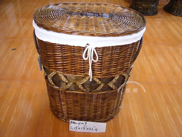 Wicker laundry hamper china manufacturer laundry basket with lid - Rattan laundry basket with lid ...