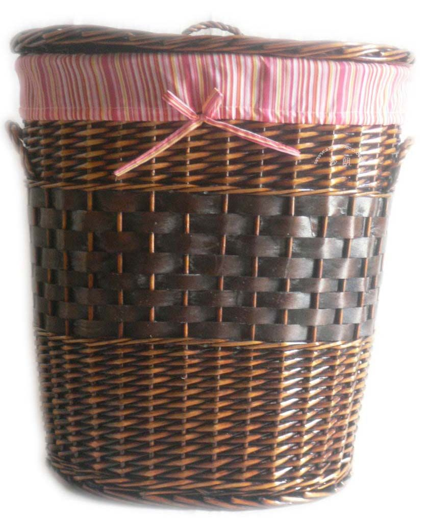 Wicker laundry hamper china manufacturer rattan laundry basket - Rattan clothes hamper ...