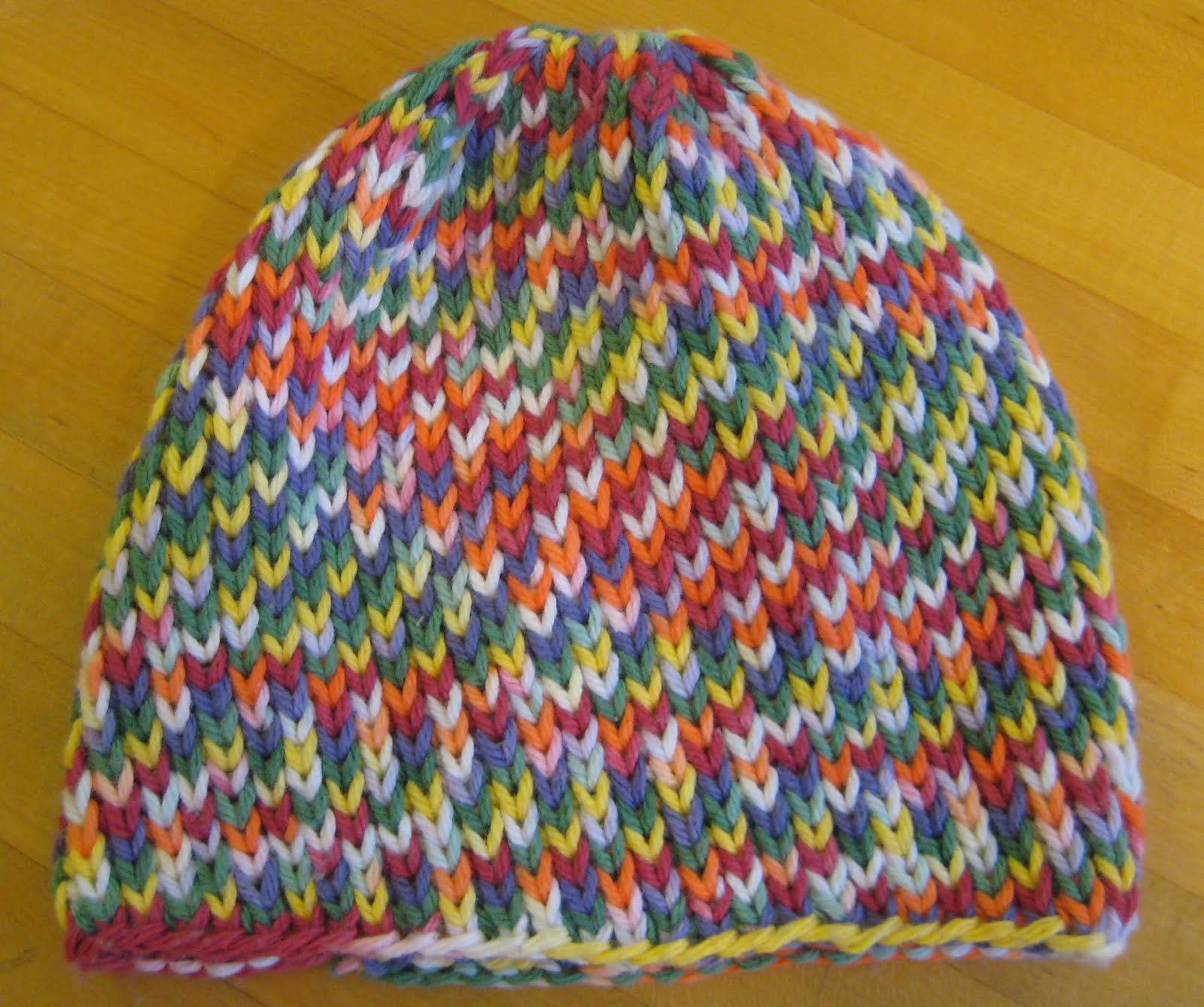 ChemKnits: Slightly Smaller K1B Baby Hat