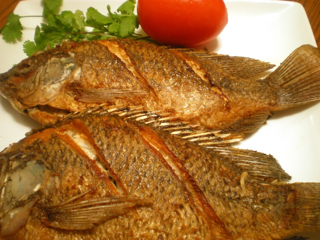Time trip the adventure series food from time trip 1 for Deep fried whole fish