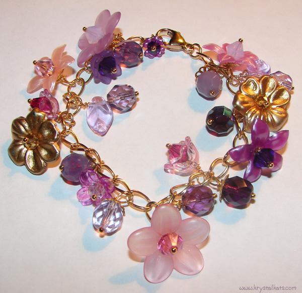 shiny moon beams blog  lovely lavender lady bracelet and
