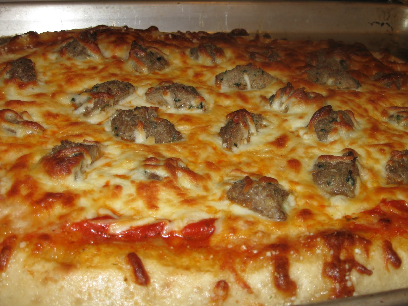 Family, Stamping and FOOD!: Friday Night Pizza: Meatball ...