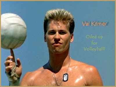 Photo of Val Kilmer shirtless, from the original Top Gun, when the guys ...