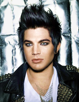 Photo of Adam Lambert from People magazine. He never looked better!