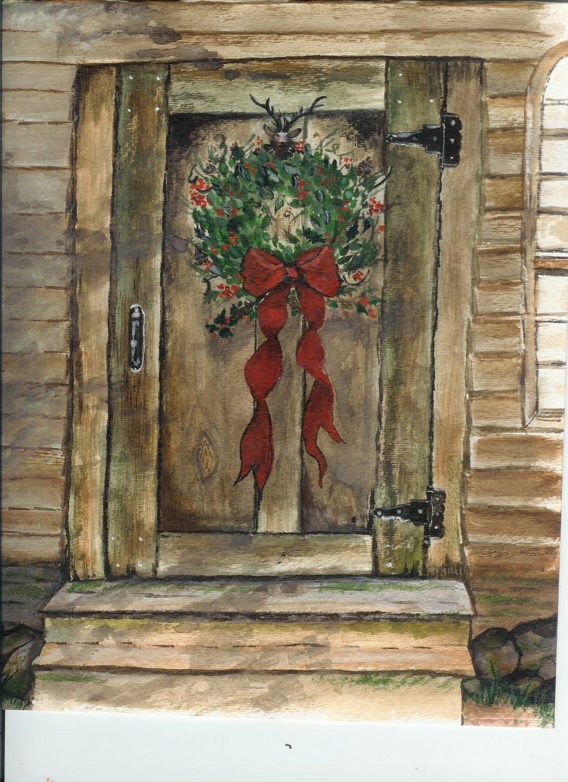 Christmas Cards From Orginal Watercolor Paintings