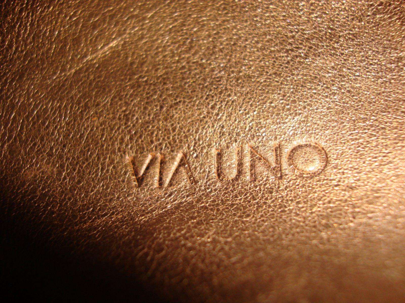 Bolsa De Couro Via Uno : Brechoice bolsa molenga em couro via uno vendida para gio