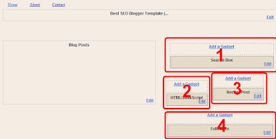 Best SEO Blogger Template Download