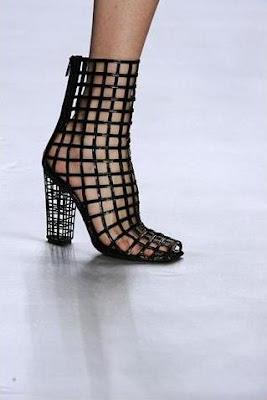 A Woman and her Shoes.: Yves Saint Laurent's Cut Out Boots ...