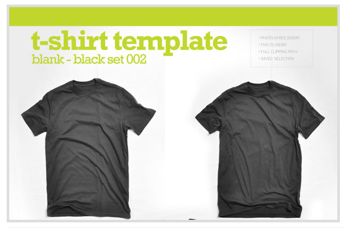 Threadless  MockUp T-Shirt fromJPG Images Shirt Tutorial