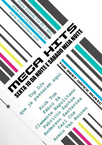 Programa megahits na Praia Grande FM  92.7