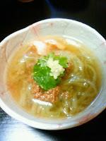 ジャージャー茄子麺
