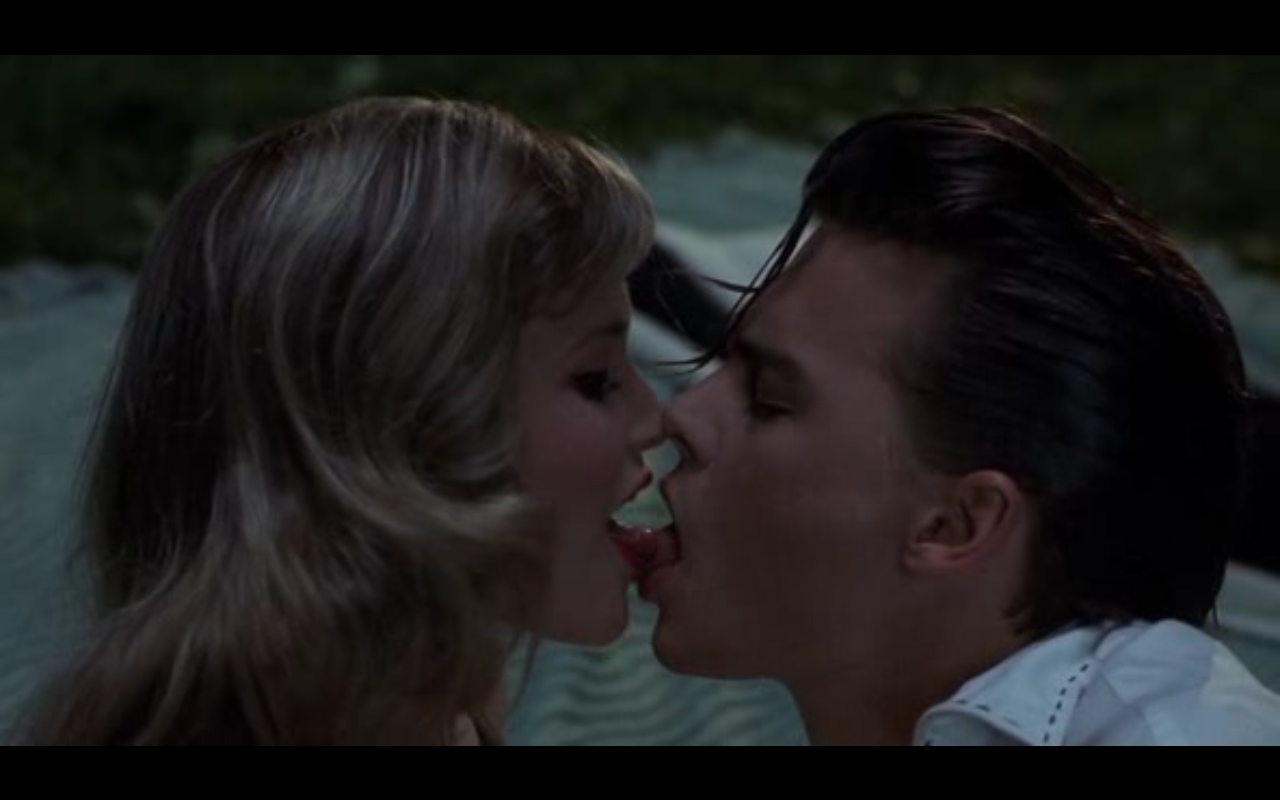cry baby kissing crybaby love