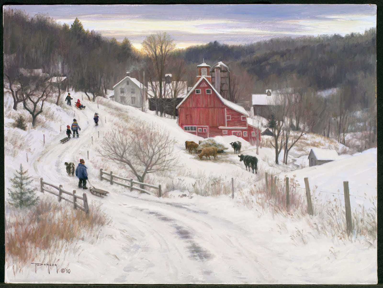 december in the country - Christmas In The Country