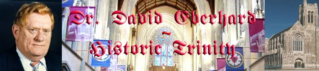 Dr. David Eberhard - Historic Trinity