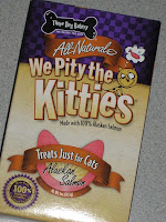We Pity The Kitties Treats for Gabrielle