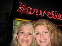 Schramwich Wife and sis celebrate 40 at Hard Rock Hollywood, CA