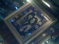 Donny and Marie picture in Salt Lake's Hard Rock