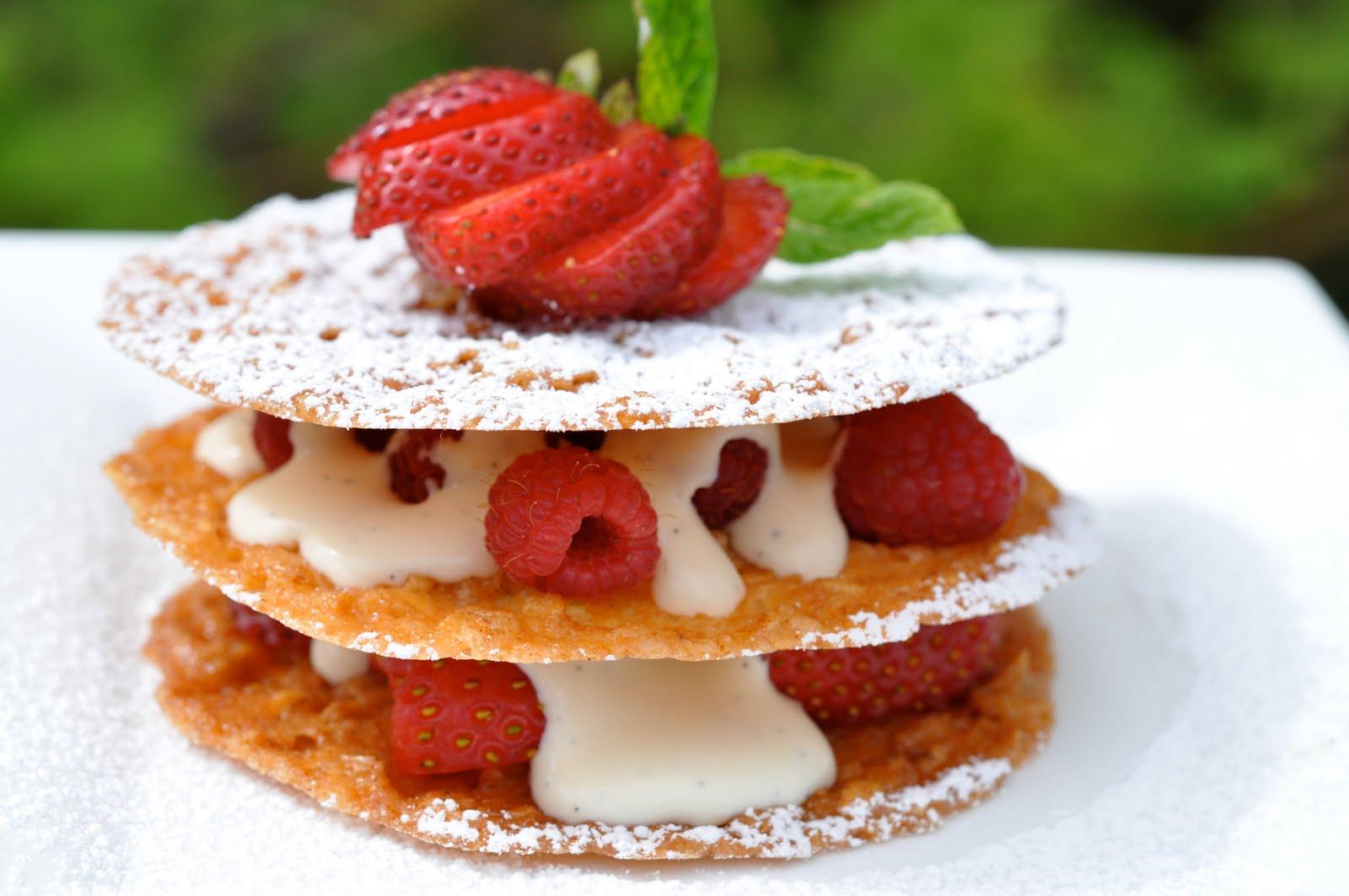 tease-spoon of sugar: Oatmeal Lace Cookies with Mascarpone Cream ...