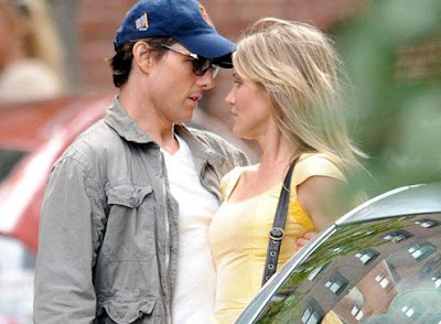 Knight and Day with Tom Cruise and Cameron Diaz.