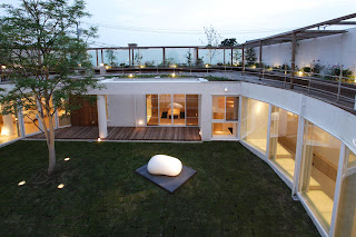 Modern Design Green Japan House Like A Museum by Edward Suzuki in Kamakura