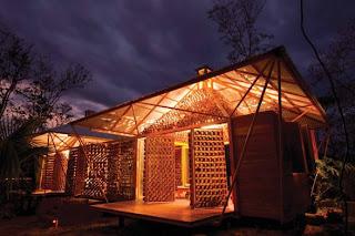 Bamboo House in Guanacaste, Costa Rica by Benjamin Garcia Saxe