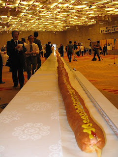 The world's longest hot dog
