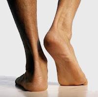 human feet