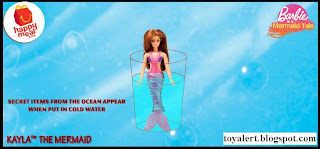 McDonalds Barbie in a Mermaids Tale toys - Kayla The Mermaid