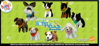 McDonalds Hotel for Dogs Promotion 2009