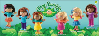 Burger King Cabbage Patch Kids 2009
