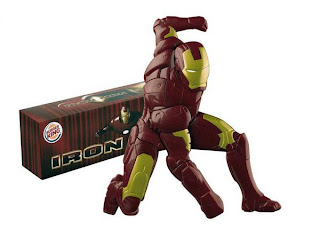 Burger King Build an Iron-Man Toy 2008