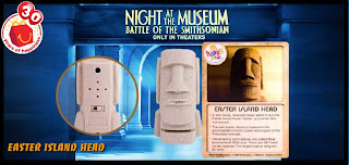 McDonalds Night at the Museum 2 Happy Meal toy - Easter Island 2009