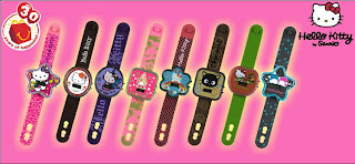 McDonalds Hello Kitty Watches Promotion Set of 8