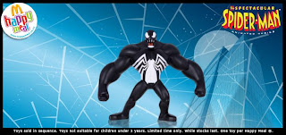 McDonalds Spectacular Spider-man Promotional Toy 2009 - Venom