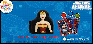 McDonalds Justice League Unlimited Toys 2009 - Wonder Woman
