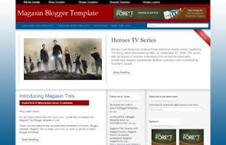 Free Blogger Template - Magasin Tres