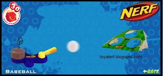 McDonalds Nerf Toys 2009 - Baseball