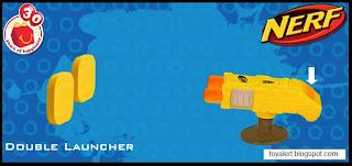 McDonalds Nerf Toys 2009 - Double Launcher