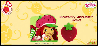 McDonalds Strawberry Shortcake Picnic toy