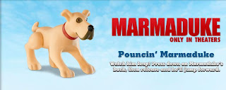 Burger King Marmaduke Kids Meal Toys Promotion 2010 - Pouncing Marmaduke
