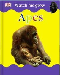 McDonalds DK Watch Me Grow Books - Apes