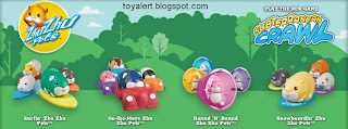 Burger King Zhu Zhu Pets Hamster Kids Meal Toys - BK kids meal promotion December 2010 - Mr Squiggles, Rocky, Spottie, Pipsqueak, Chunk, Patches, Scoodles, Shamrock, Tex, Kingsley, Winkie, Peachy, Jilly, Nugget, Moo, Num Nums