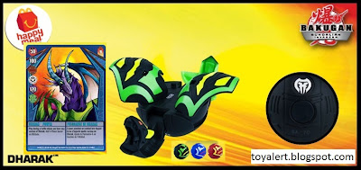 McDonalds Bakugan Gundalian Invaders 2010 Happy Meal toys - Dharak