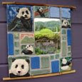 Panda Mirror by GoldenLightCeramics