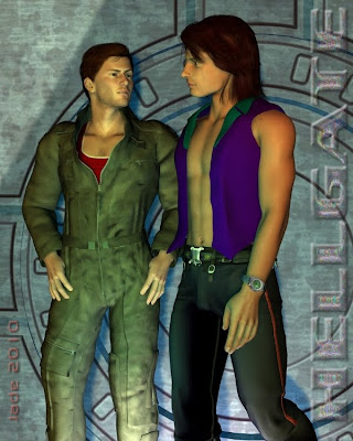 Gay Heroes -- in 3D: welcome to Hellgate