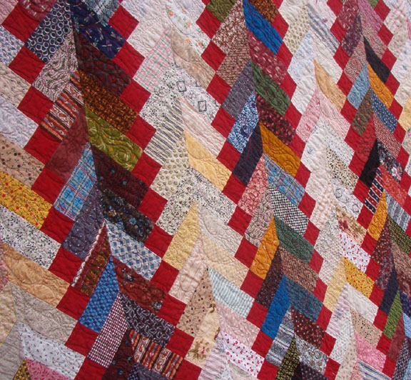Creative ideas for you: Twenty-Six Free Scrappy Quilt Patterns